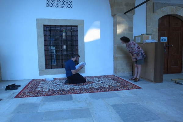 Sited performance workshop, Arabahmet, Nicosia - in collaboration with 'Seeds of Peace' program fellows and Theatre Etc.